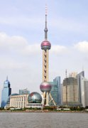 Travel in China:Oriental Pearl Radio and Television Tower